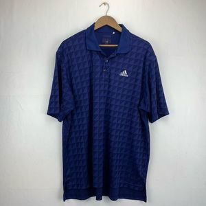 Adidas Men's 2XL Climacool Performance Polo Shirt